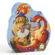 Puzzle - Vaillant et le dragon