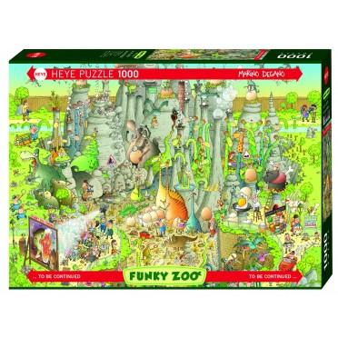 Puzzle - Jurassic Habitat de Marino Degano - 1000 Pièces