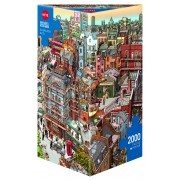 Puzzle - Sherlock & Co. de Göbel/Knorr - 2000 Pièces