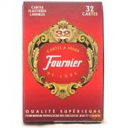 Jeu de 32 Cartes Fournier - Rouge