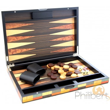 Backgammon Arlequin 38 cm