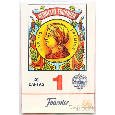 Cartes Espagnoles Heraclio Fournier : Rouge