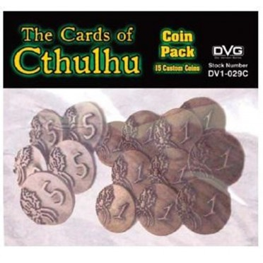 The Cards of Cthulhu: Coin Pack