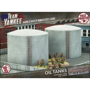 Team Yankee - Oil Tanks