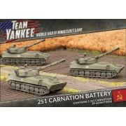 Team Yankee - 2S1 Carnation Battery