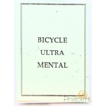 Ultra Mental - Bicycle - Jeux de 54 Cartes Truqués
