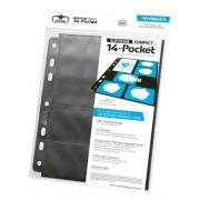 Pack 10 Feuilles 14 Pocket - Taille Standard & Mini American : Noir