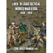 Lock 'n Load Tactical - World War 2 Era Core Rules Book v4.1 pas cher