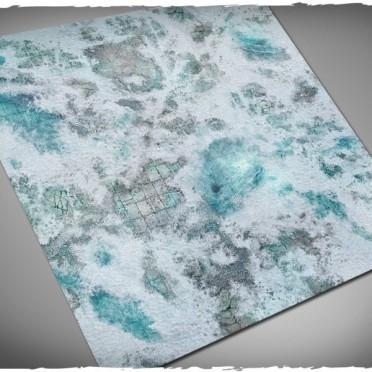 Terrain Mat PVC - Frostgrave - 120x120