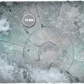Terrain Mat Cloth - Frostgrave - 90x90 2