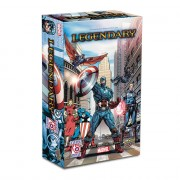 Legendary Marvel Deck Building Game : Captain America 75th Anniversary