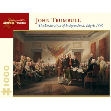 Puzzle - The Declaration of Independence de John Trumbull - 1000 Pièces