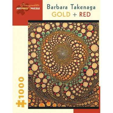Puzzle - Gold + Red de Barbara Takenaga - 1000 Pièces