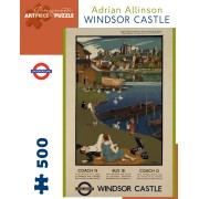 Puzzle - Windsor Castle de Adrian Allinson - 500 Pièces