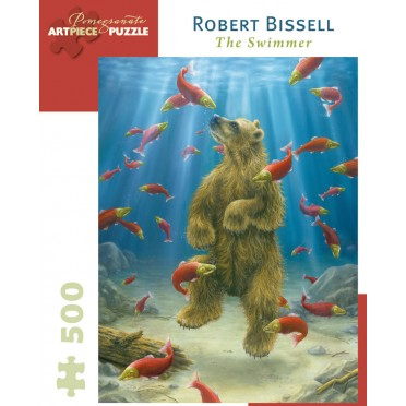 Puzzle - The Swimmer de Robert Bissell - 500 Pièces
