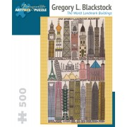 Puzzle - The World Landmark Buildings de Gregory L. Blackstock - 500 Pièces