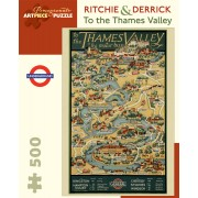 Puzzle - To the Thames Valley de Ritchie & Derrick - 500 Pièces