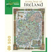 Puzzle - Story Map of Ireland - 500 Pièces