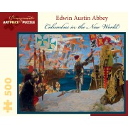 Puzzle - Columbus in the New World de Edwin Austin Abbey - 500 Pièces