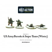Bolt Action - US Army Bazooka and Sniper teams (Winter)