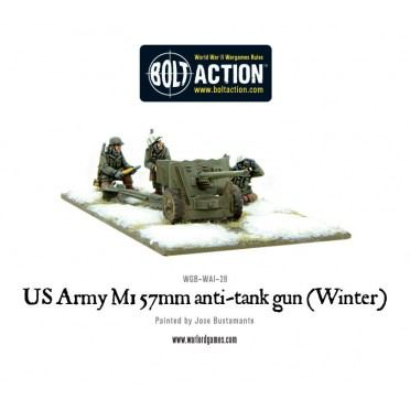 Bolt Action - US Army 3-inch anti-tank gun M5 (Winter)