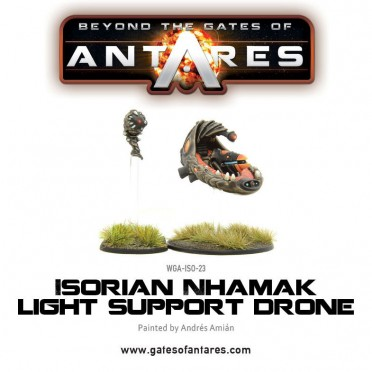 Beyond the Gates of Antares : Isorian Nhamak light support drone
