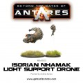 Beyond the Gates of Antares : Isorian Nhamak light support drone 1