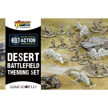 Bolt Action - Desert Themed Battlefield Set