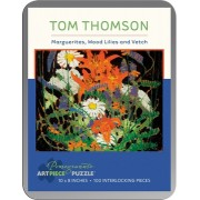 Puzzle - Marguerites, Wood Lilies and Vetch de Tom Thomson - 100 Pièces