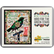 Puzzle - Bird for the Green Stars de Tony Fitzpatrick - 100 Pièces