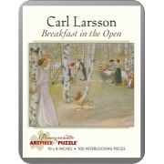 Puzzle - Breakfast in the Open de Carl Larsson - 100 Pièces