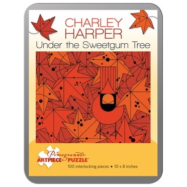 Puzzle - Under the Sweetgum Tree de Charley Harper - 100 Pièces