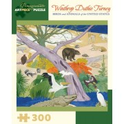 Puzzle - Birds and Animals of the United States de Winthrop Duthie Turney - 300 Pièces