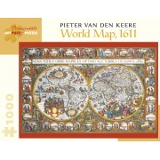 World Map de Pieter van den Keere - 1000 pièces