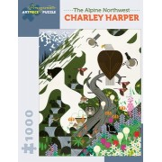 Puzzle - The Alpine Northwest de Charley Harper - 1000 Pièces