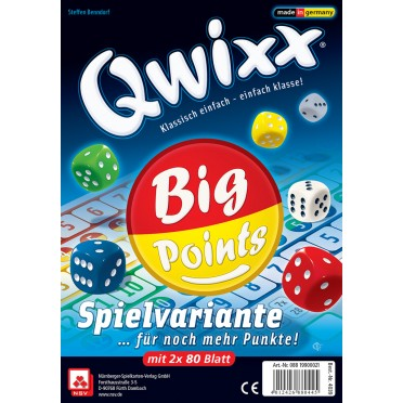 Qwixx - Big Points