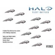 Halo Fleet Battles - UNSC Halberd Upgrade Box