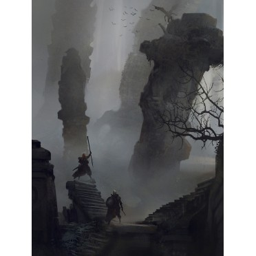 Symbaroum - Illustration 80x60 : Davokar