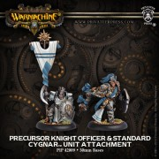 Precursor Knight Officer & Standard pas cher