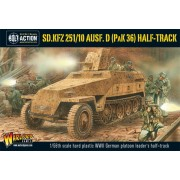 Bolt Action - German - Sd.Kfz 251/10 ausf D (3.7mm Pak) Half Track