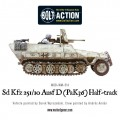 Bolt Action - German - Sd.Kfz 251/10 ausf D (3.7mm Pak) Half Track 6