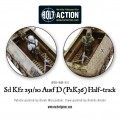 Bolt Action - German - Sd.Kfz 251/10 ausf D (3.7mm Pak) Half Track 7