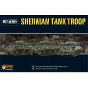 Bolt Action - British - Sherman V Troop including Vc Firefly