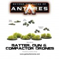 Antares - Batter, Gun & Compactor Drones 0