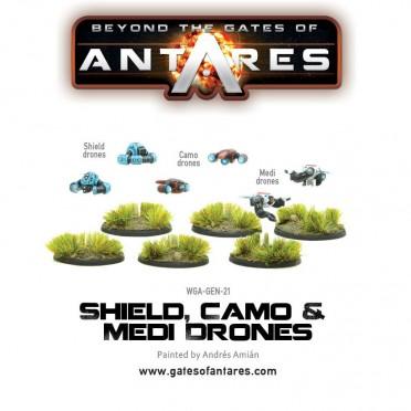 Antares - Shield, Camo & Medi-Drones