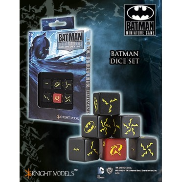 Batman - Batman Dice Set