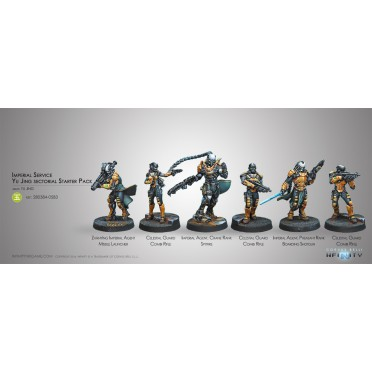 Infinity - Imperial Service Yu Jing Sectorial Starter Pack