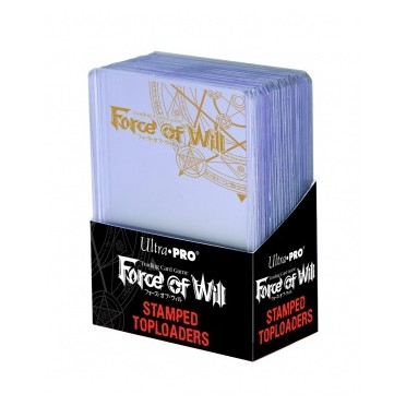 """Toploader 3""""x4"""" Stamped - Force of Will"""