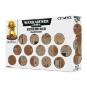 Citadel : Socles - Sector Imperialis 32mm Round Bases