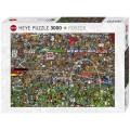 Puzzle - Football History de Alex Benett - 3000 Pièces 1